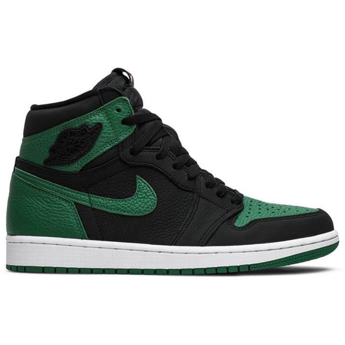 air jordan noir et vert